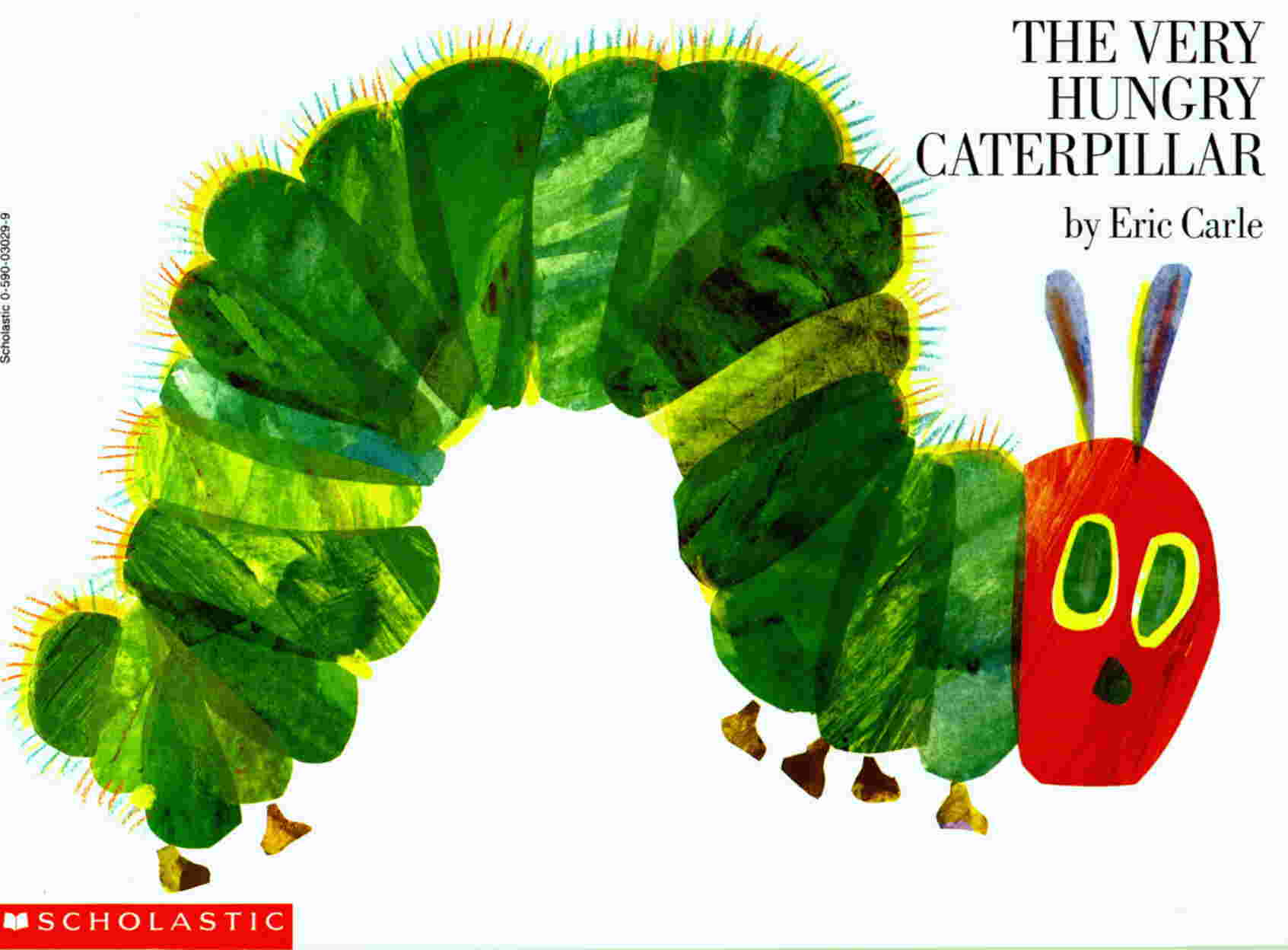 The Very Hungry Caterpillar-Best books for 3 year olds